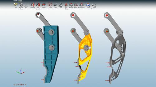 ImageGrafix Software FZCO - Altair Inspire Designs Screen Overview