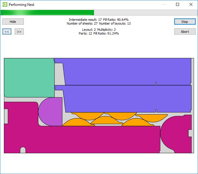 ImageGrafix Software FZCO - AlphaCAM Performing Nest R2