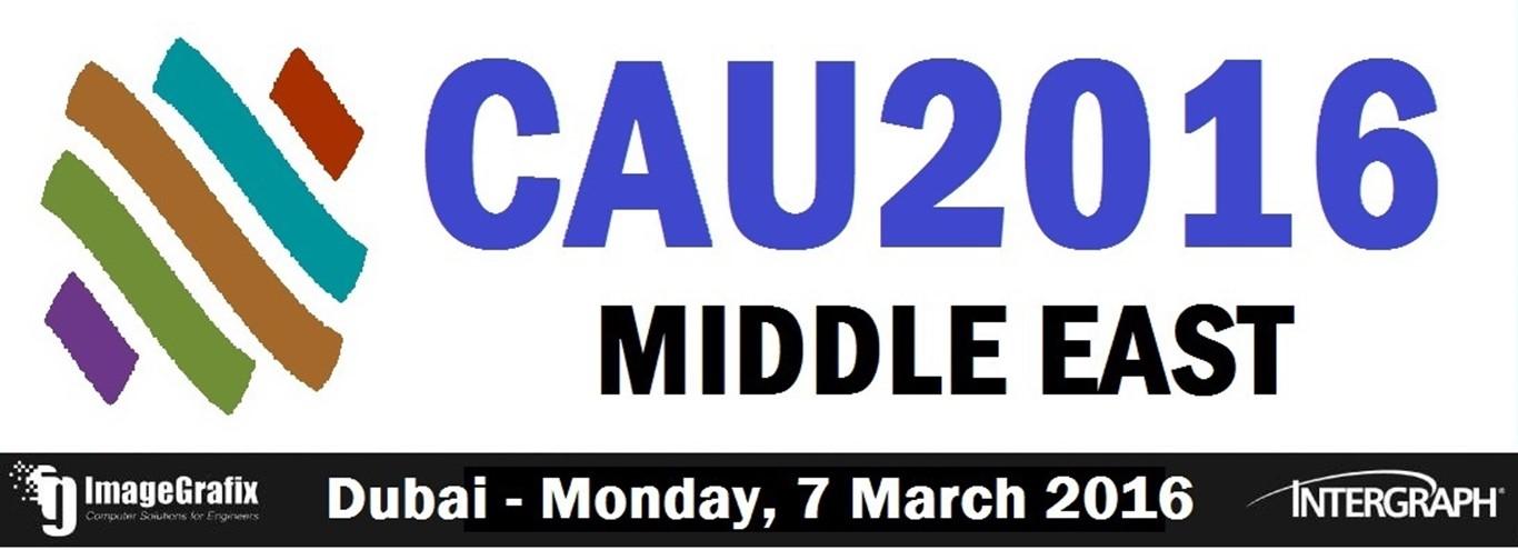 ImageGrafix Software FZCO - CAU 2016 Middle East