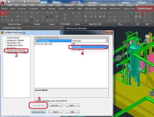 ImageGrafix Software FZCO - Convert Legacy Drawing Settings Step4