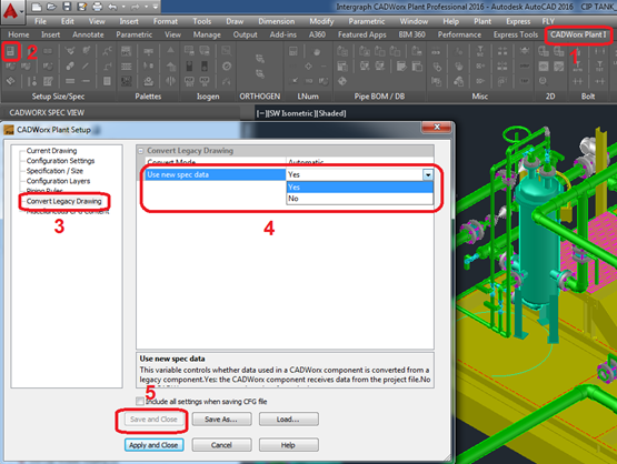 ImageGrafix Software FZCO - Convert Legacy Drawing Settings Step5