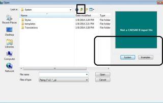 ImageGrafix Software FZCO - Restore CaesarII file Step1