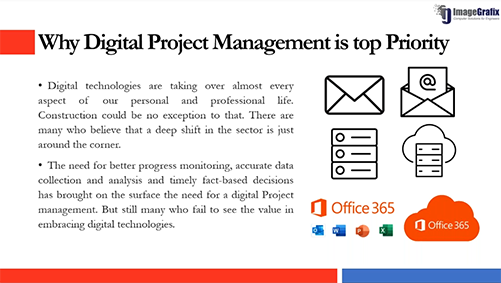 Digital Project Management using Oracle Primavera Solution