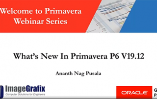 What's New in Primavera P6 V19 12