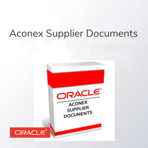 ImageGrafix Software FZCO - Aconex Supplier Documents